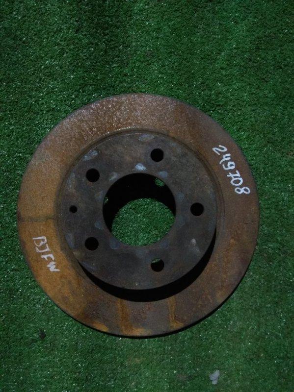 Диск тормозной Mazda Familia BJFW FS-ZE задний Ф261, T10, CD72, H40, 5*114.3, НЕ ВЕНТ,