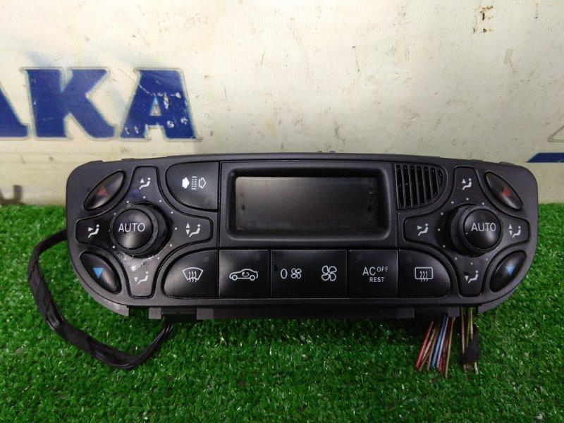 Климат-контроль Mercedes-Benz C200 203.042 M271E18 2000 1 модель (00-04г), с фишками