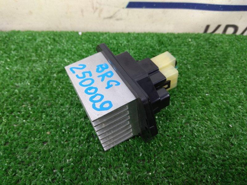 Реостат печки Subaru Legacy BRG FA20 2012 4 контакта