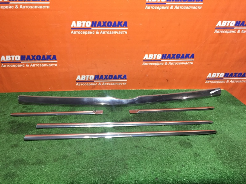 Молдинг Nissan March AK12 CR12DE 2002 1мод RAFEET к-т на 4 двери+зад. бампер