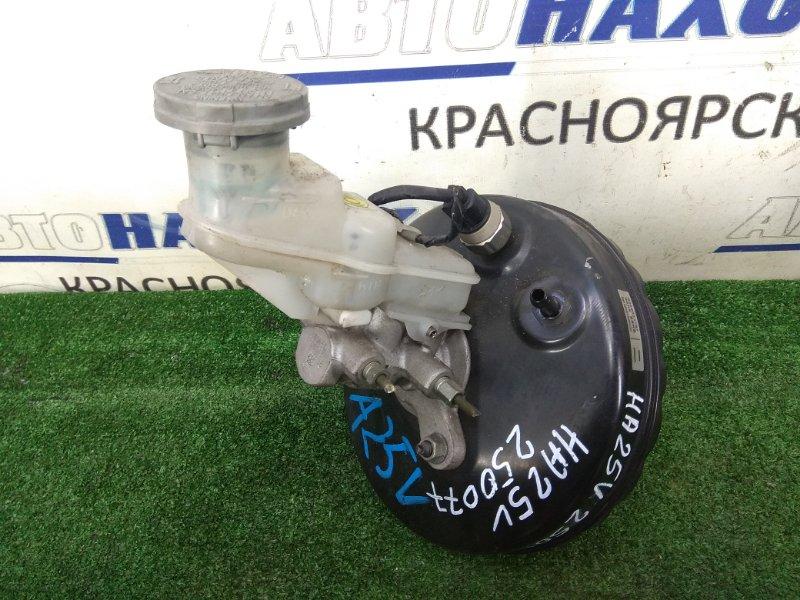 Главный тормозной цилиндр Suzuki Alto HA25V K6A 2009 с вакуумом и бачком