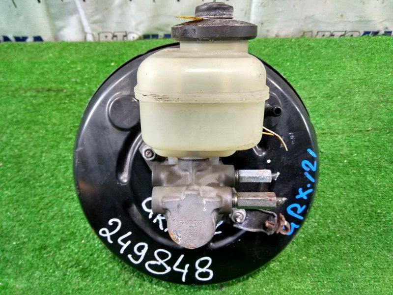 Главный тормозной цилиндр Toyota Mark X GRX121 3GR-FSE 2004 с вакуумником и бачком