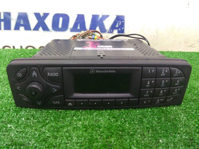 Магнитола Mercedes-Benz C200 203.042 M271E18 2000 CM1121 штатный, кассета+CD+радио, для рынка Японии, с