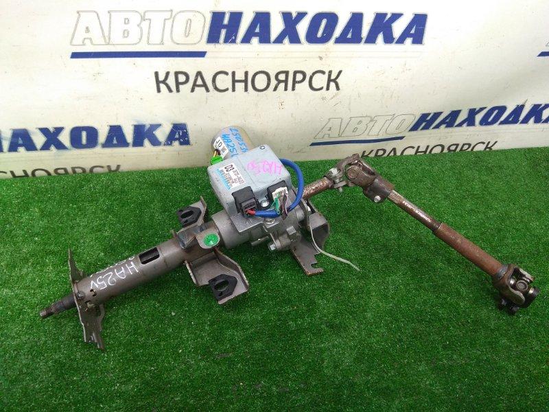 Колонка рулевая Suzuki Alto HA25V K6A 2009 с ЭУРом и блоком управления (38720-64L00) + карданчик