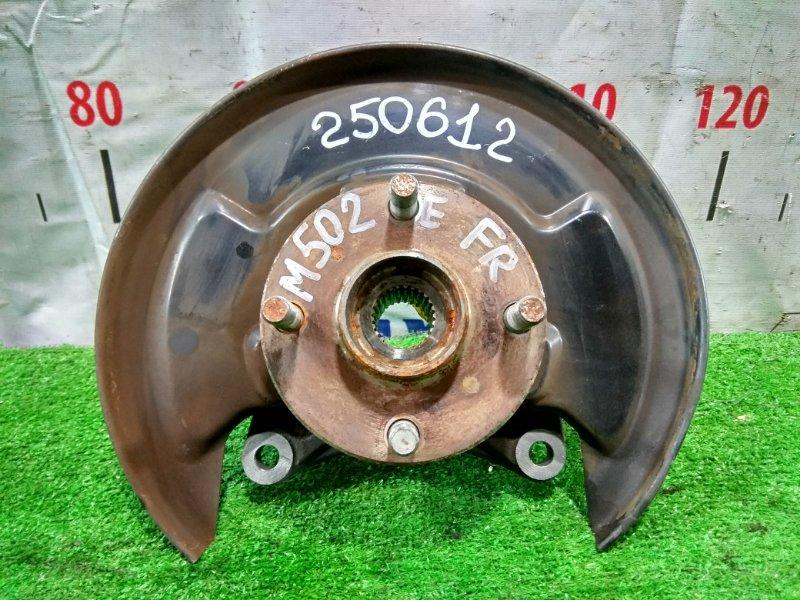 Ступица Toyota Passo Sette M502E 3SZ-VE 2008 передняя правая FR, без диска и суппорта