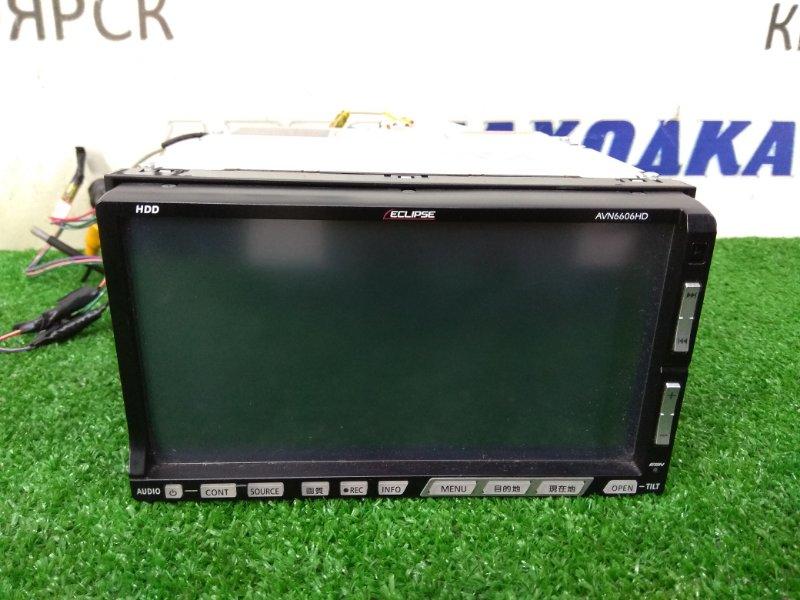 Магнитола Honda Stream RN6 R18A 2006 AVN6606HD ECLIPSE AVN6606HD, 2DIN, 178x100 мм, AM/FM, MP3/WMA CD/DVD, HDD 40Gb, с фишками