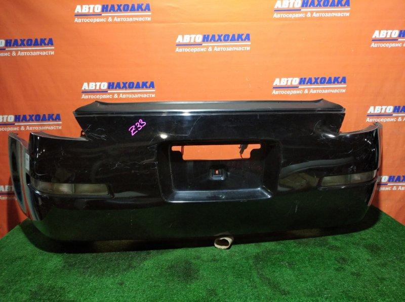 Бампер Nissan Fairlady Z Z33 VQ35DE 2002 задний 4958 1мод повторители 4958/под покраску/много царапин