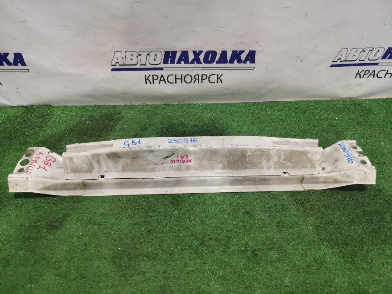 Усилитель бампера Honda Mobilio GB1 L15A передний швеллер