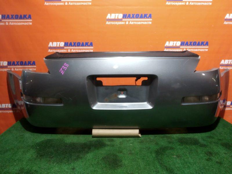 Бампер Nissan Fairlady Z Z33 VQ35DE 2002 задний 4958 1мод повторители 4958/под полировку/снизу
