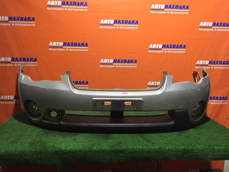 Бампер Subaru Outback BP9 EJ25 2003 передний под покраску/туманки 114-20759