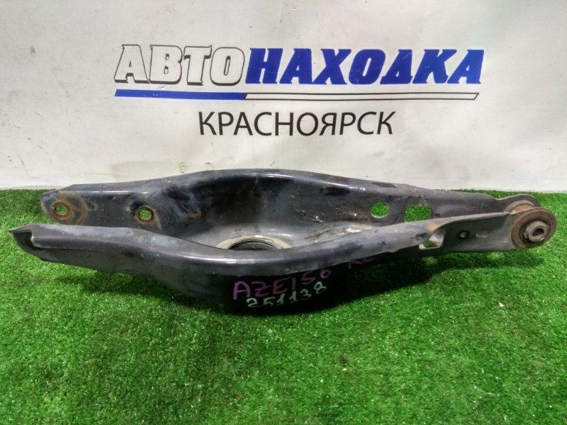 Рычаг подвески Toyota Blade AZE156H 2AZ-FE 2006 задний нижний поперечный, под пружину