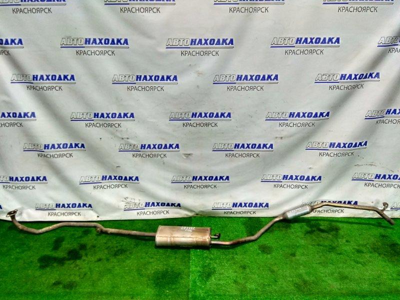 Глушитель Daihatsu Mira E:s LA300S KF 2011 весть тракт (от коллектора)