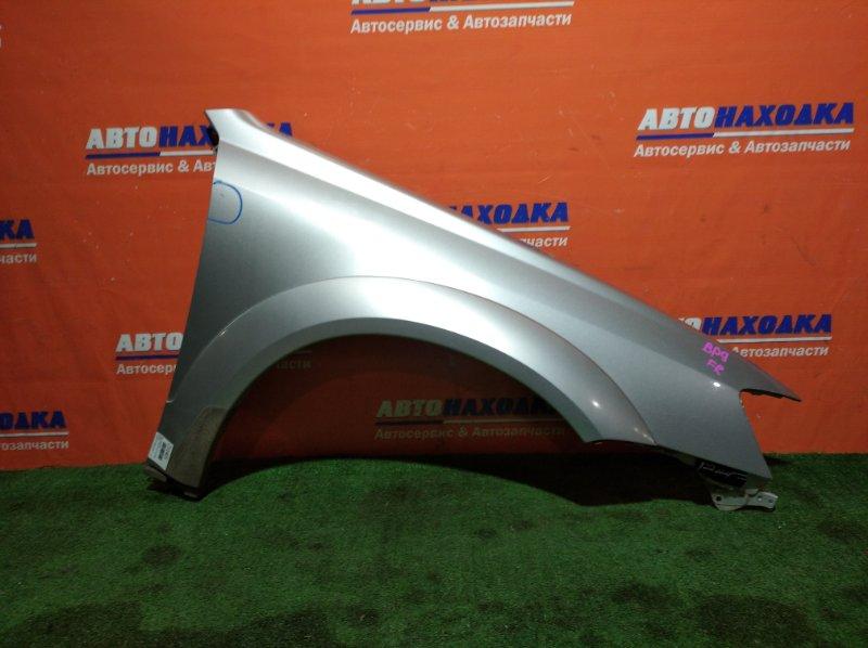 Крыло Subaru Outback BP9 EJ25 2003 переднее правое 1мод есть царапина/фендер+клипса