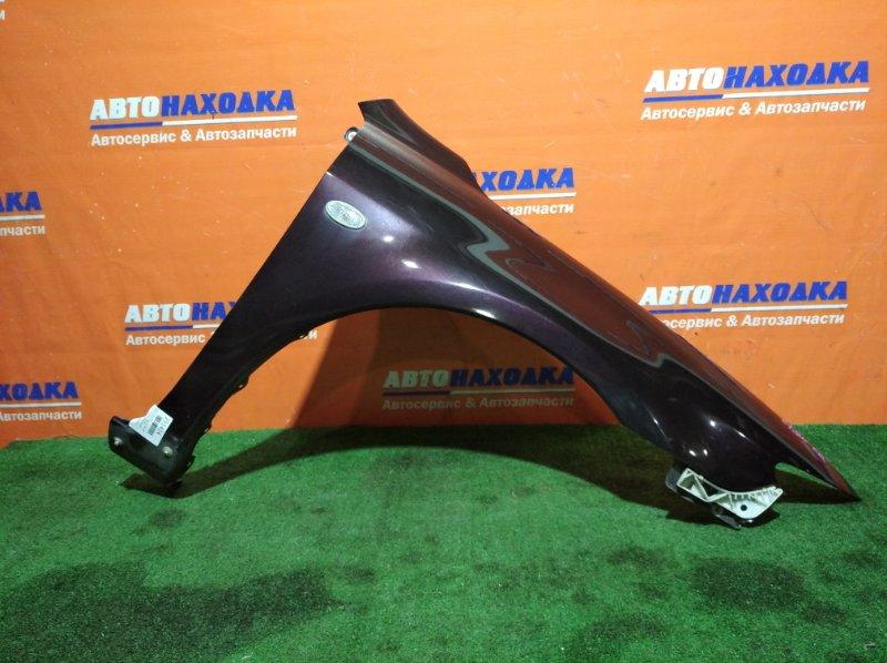 Крыло Mazda Atenza GY3W L3-VE 2002 переднее правое ОТС/клипса+повторитель/под порог