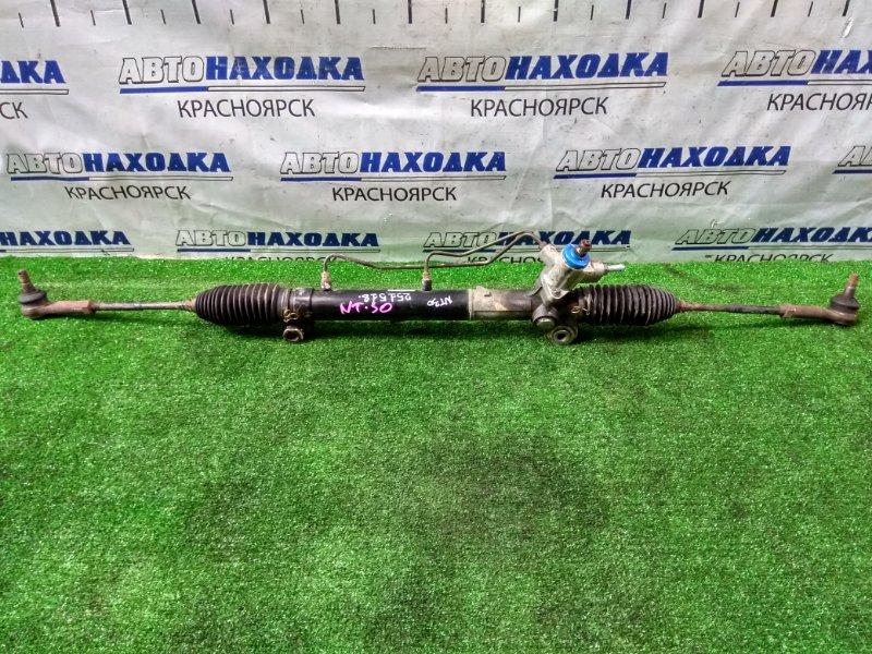Рейка рулевая Nissan X-Trail NT30 QR20DE в сборе с тягами и наконечниками, правый руль