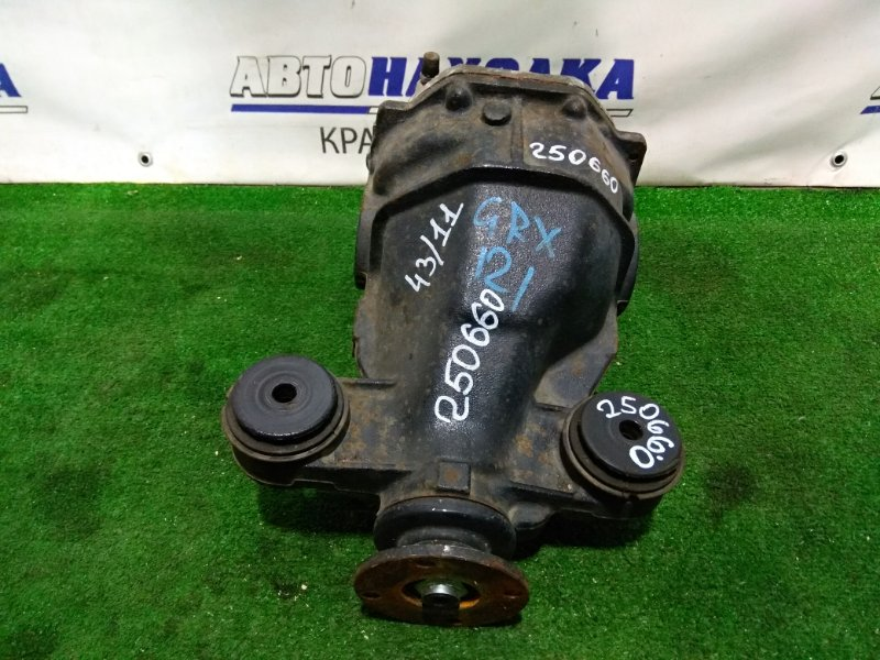 Редуктор Toyota Mark X GRX121 3GR-FSE 2004 задний 43:11=3.9 09