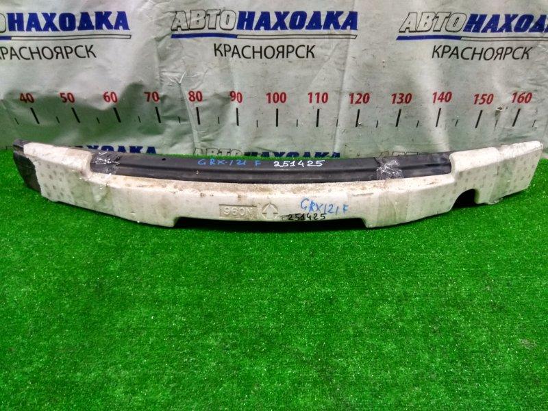 Усилитель бампера Toyota Mark X GRX121 3GR-FSE 2004 передний передний швеллер + пенопласт