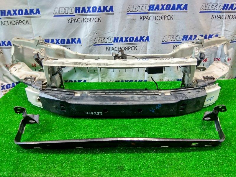 Рамка радиатора Volvo V50 B5244S5 2003 передняя нижняя 31218066, 31353949 верхняя и нижняя часть, с