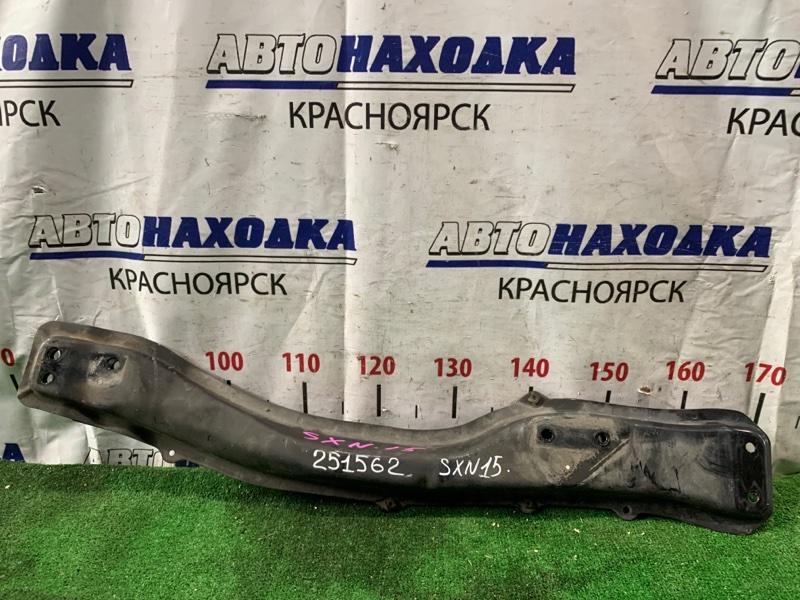 Балка продольная Toyota Nadia SXN15 3S-FE 2001 передняя 51204-20121 продольная лыжа, 4WD