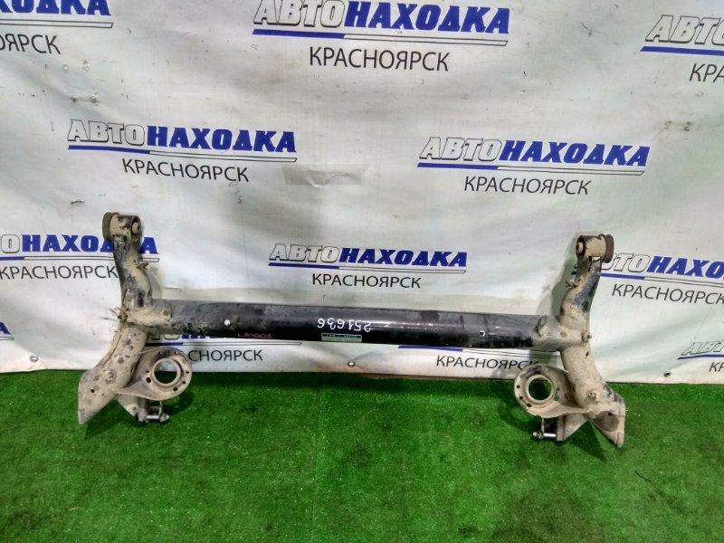 Балка поперечная Daihatsu Mira E:s LA300S KF 2011 задняя задняя, голая