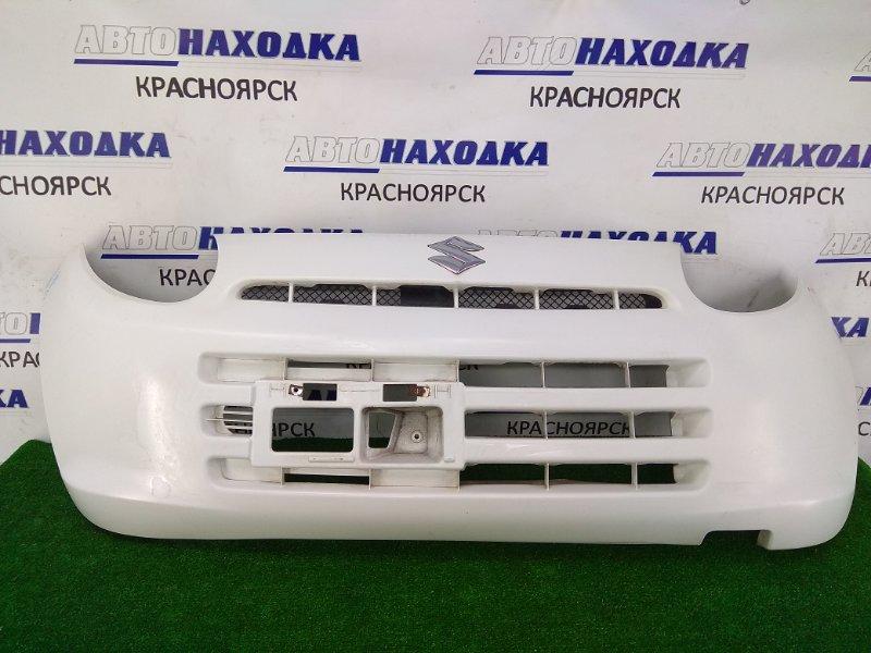 Бампер Suzuki Alto HA25V K6A 2009 передний ХТС, передний, белый (26U), под полировку
