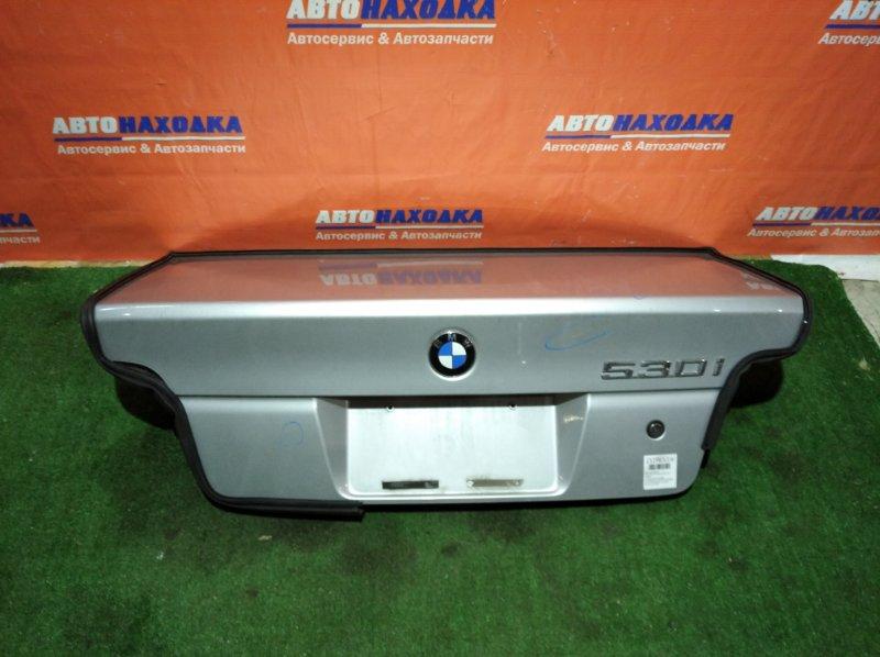 Крышка багажника Bmw 530I E39 M54B30 2000 ХТС есть потертости/набор инструмента/знак