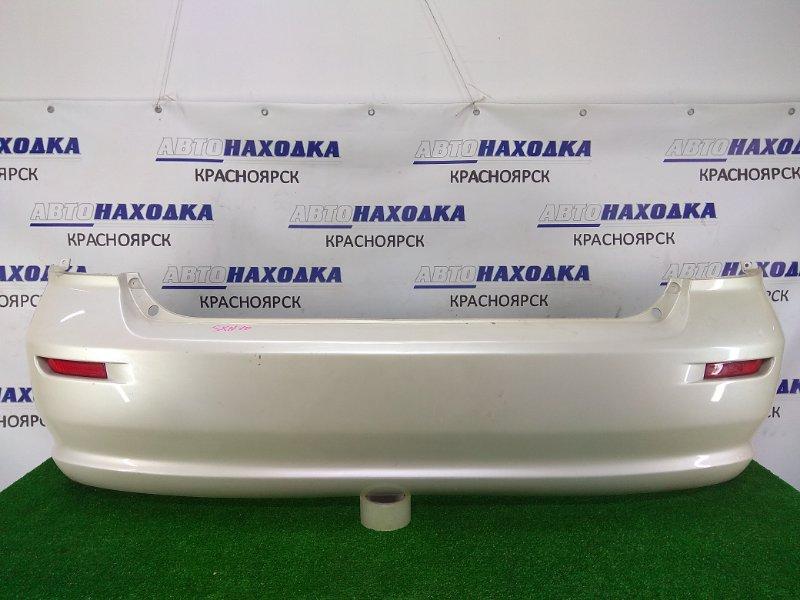 Бампер Toyota Nadia SXN10 3S-FSE 1998 задний задний, 1 модель, белый перламутр (042), с катафотами