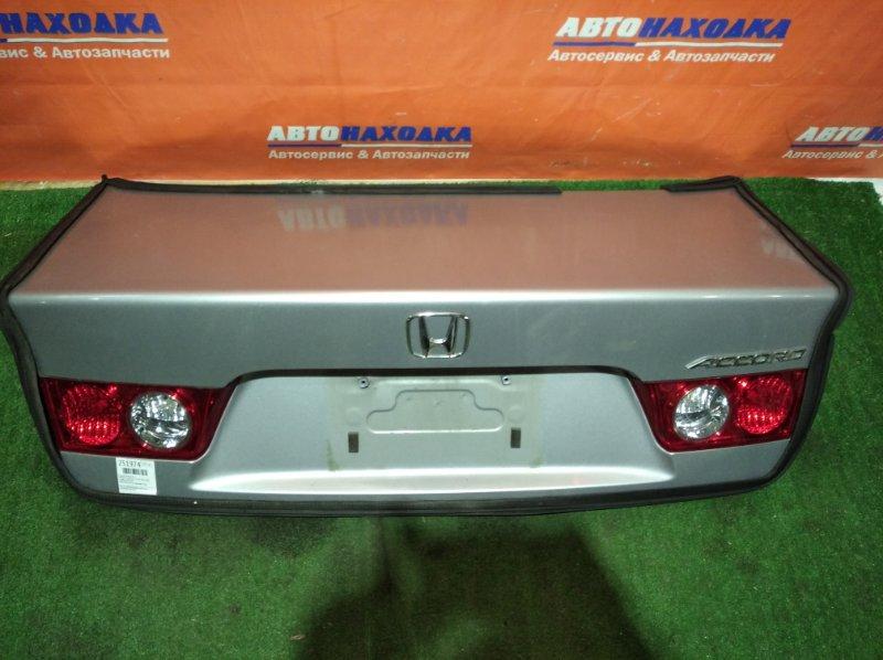 Крышка багажника Honda Accord CL9 K24A 2002 ЦВЕТ NH623M ОТС/фонари 3214