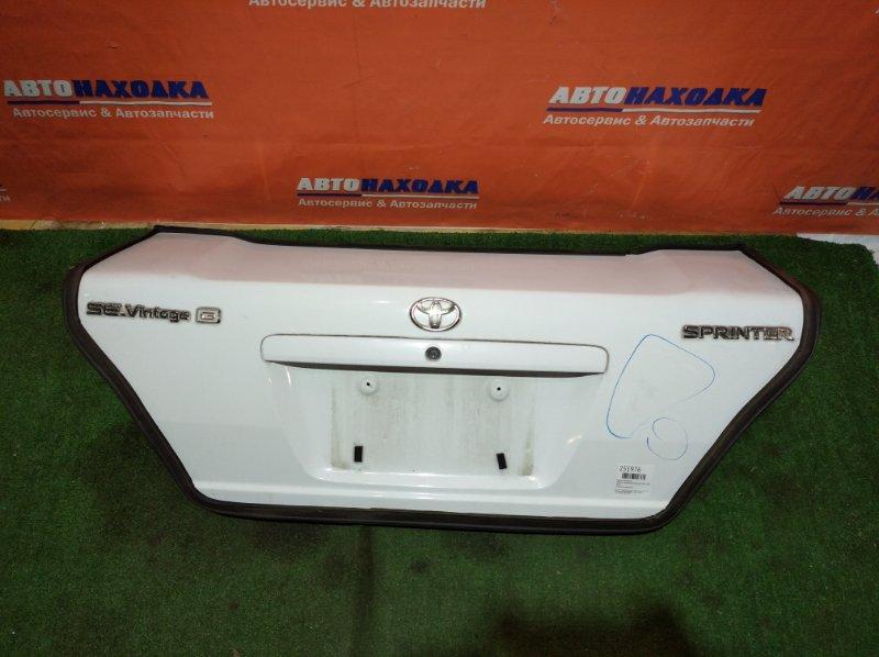 Крышка багажника Toyota Sprinter AE110 5A-FE 1997 1мод. есть потертости