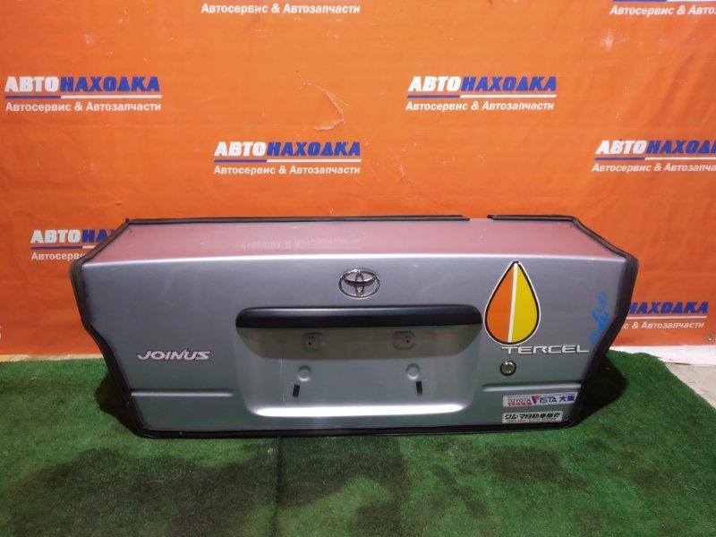 Крышка багажника Toyota Tercel EL51 4E-FE 1994 ХТС под полировку цвет 1A0
