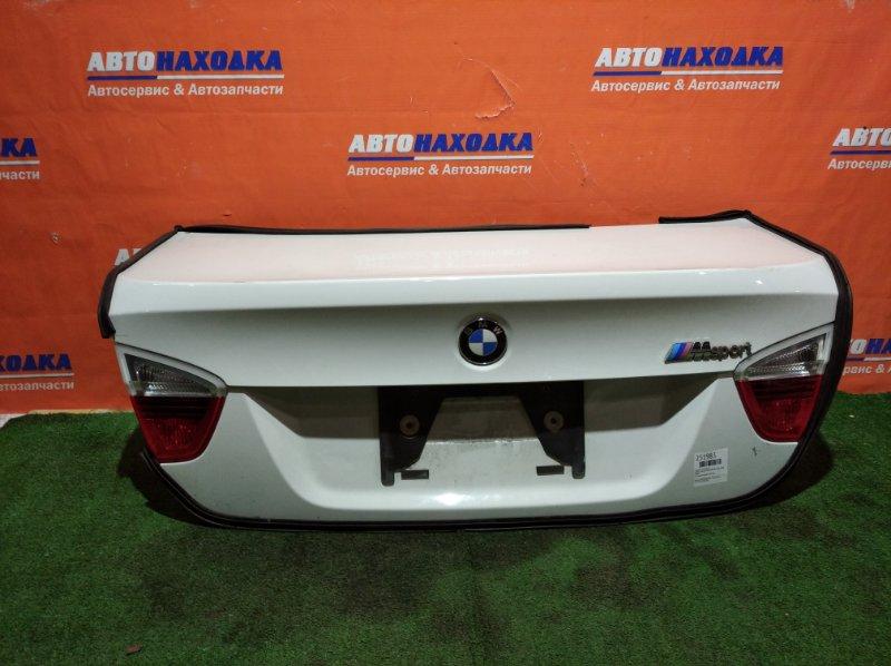 Крышка багажника Bmw 3-Series E90 N45B20B 2004 хтс под полировку /фонари