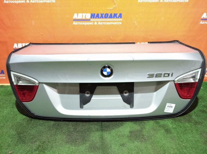 Крышка багажника Bmw 3-Series E90 N45B20B 2004 есть потертости/фонари