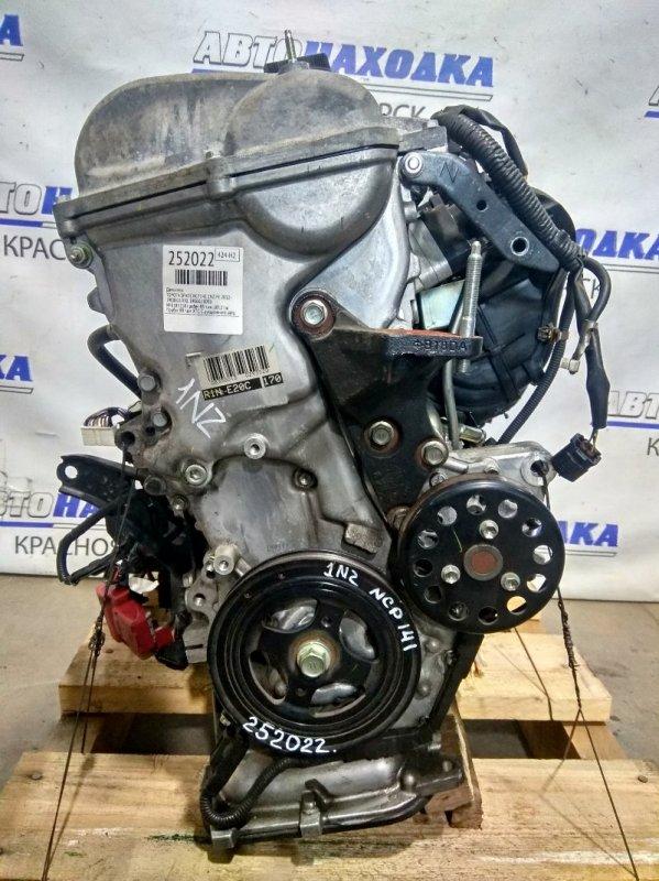 Двигатель Toyota Spade NCP141 1NZ-FE 2012 № E185118 пробег 88 т.км. 2012 г.в. Пробег 88 т.км. ХТС. С