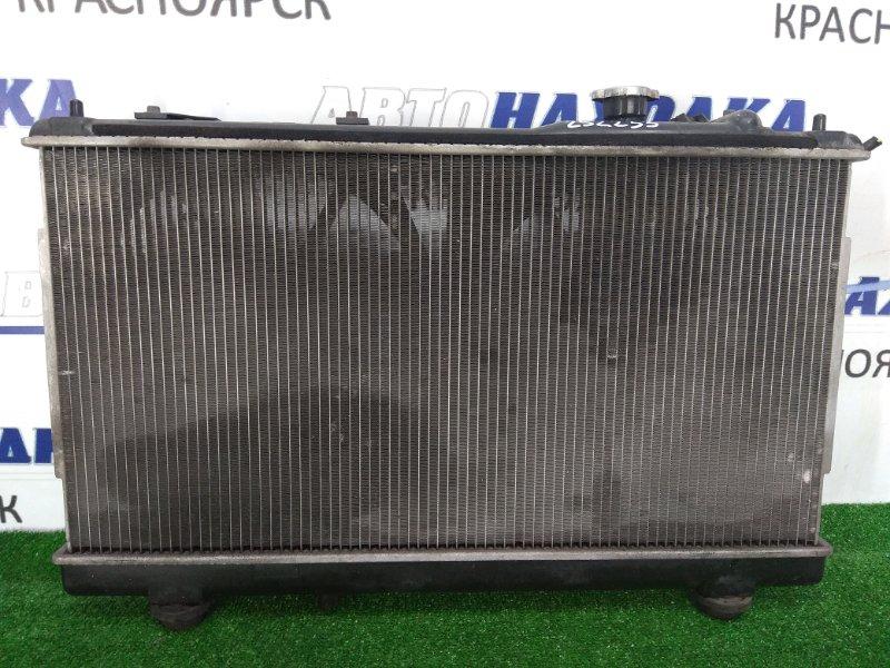 Радиатор двигателя Mazda Premacy CP8W FP-DE 1999 АКПП, с диффузорами и вентиляторами