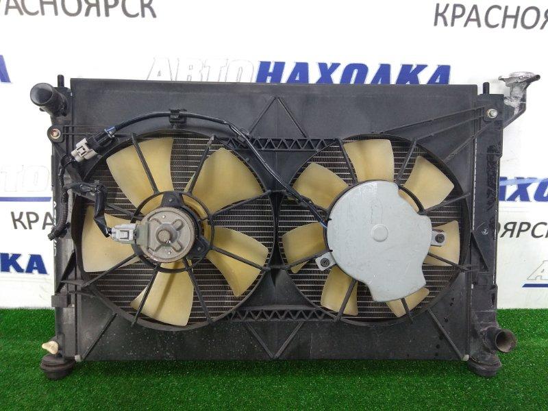 Радиатор двигателя Toyota Premio AZT240 1AZ-FSE 2001 с диффузором и вентиляторами