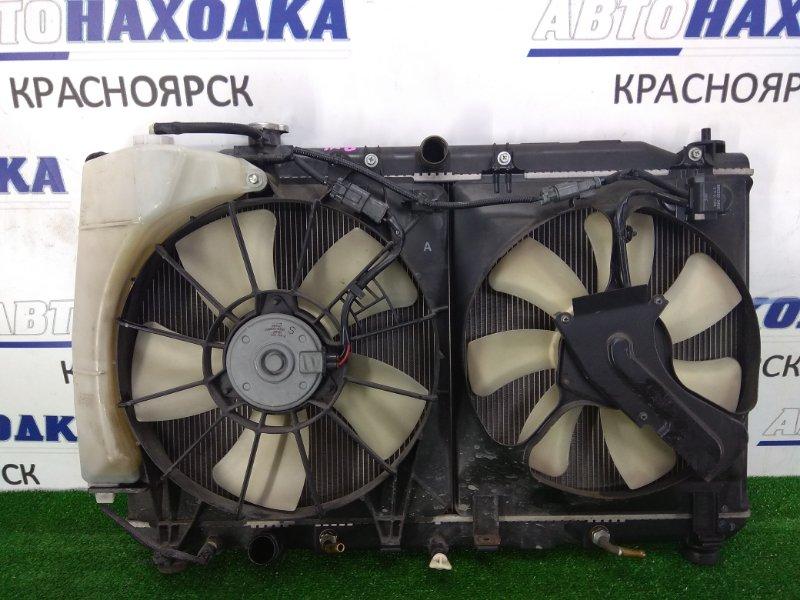 Радиатор двигателя Honda Stream RN6 R18A 2006 с диффузором, вентиляторами, расширительным