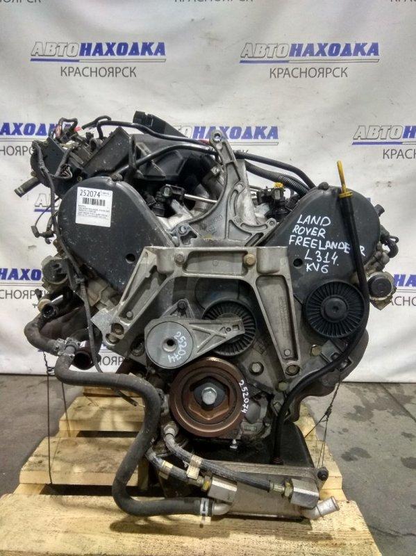 Двигатель Land Rover Freelander L314 KV6 2003 25K4F FP68 № 255822 пробег 103 т.км. 2003 г.в. ХТС. Саукционного