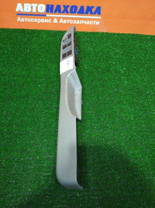 Блок управления стеклоподъемниками Nissan March K11 CG10DE 1997 передний правый с серой накладкой