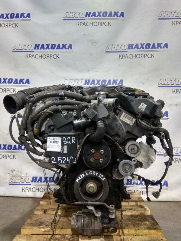 Двигатель Toyota Mark X GRX121 3GR-FSE 2004 №0147476 2005 г.в. С аукционного авто. Есть видео работы