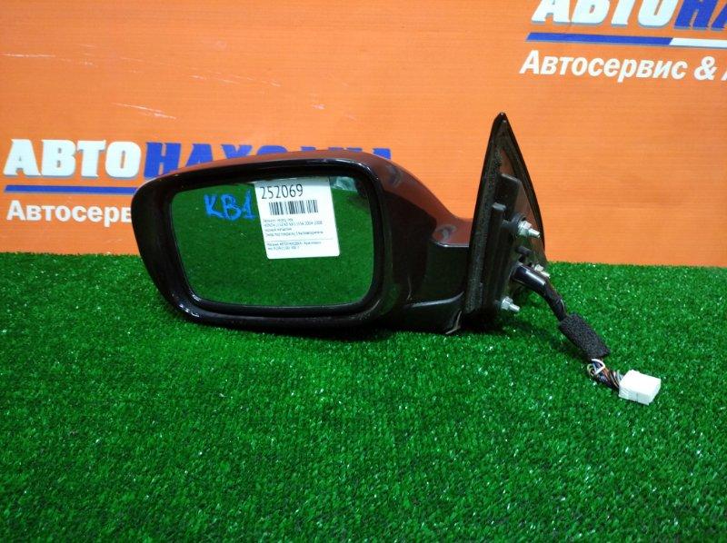 Зеркало Honda Legend KB1 J35A 2004 переднее левое 1мод под покраску 14к/повторитель