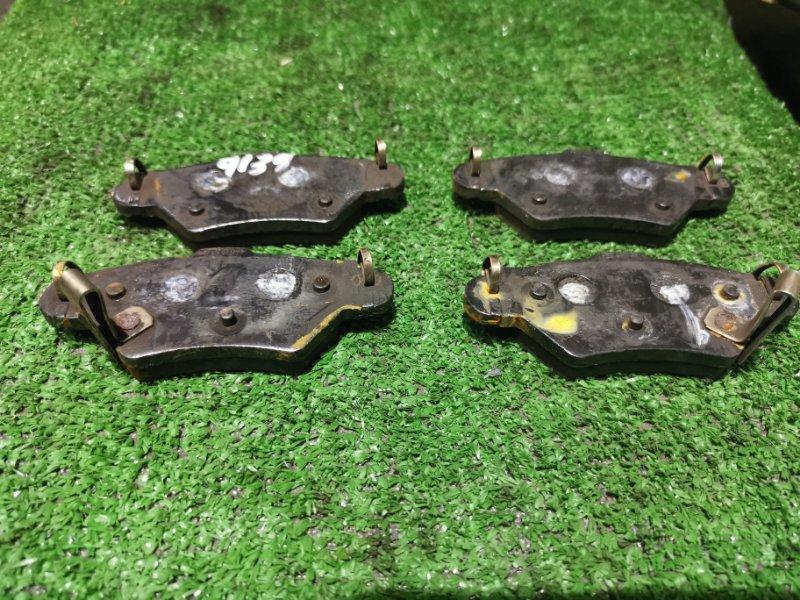 Колодки тормозные Opel Zafira X18N X18XE1 задние задние дисковые 70%