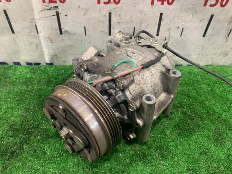 Компрессор кондиционера Honda Insight ZE2 LDA 2009 пробег 76 т.км. ХТС. С аукционного авто.