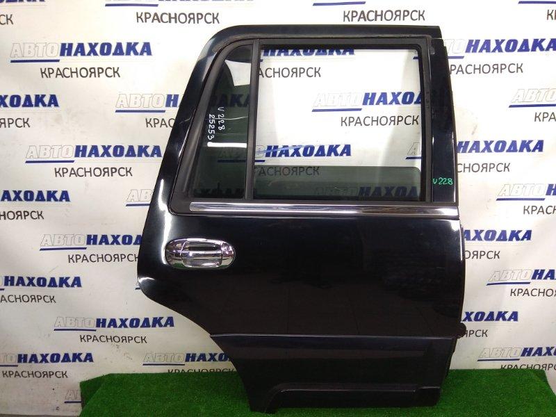Дверь Lincoln Navigator U228 LINCOLN INTECH 2003 задняя правая ХТС, задняя правая, в сборе, черная, с хром