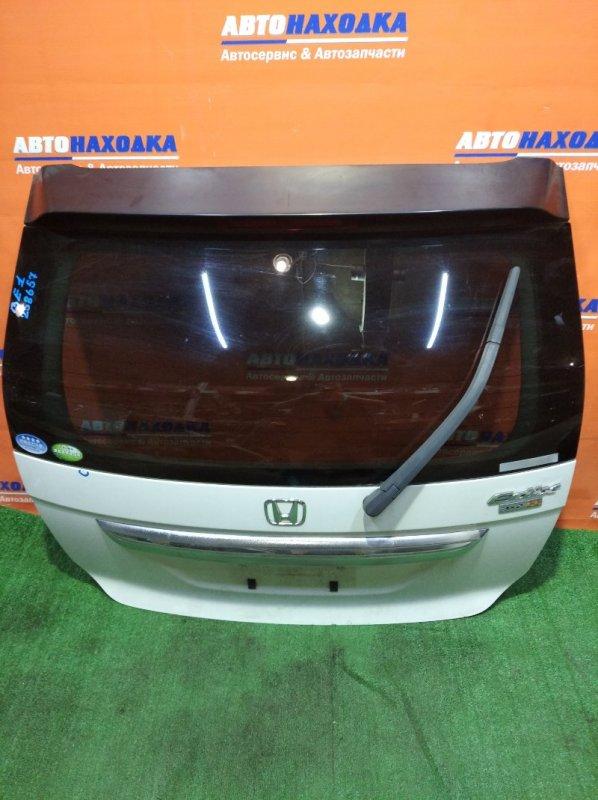 Дверь задняя Honda Edix BE1 D17A 2004 ХТС есть маленький скольчик/метла+стекло