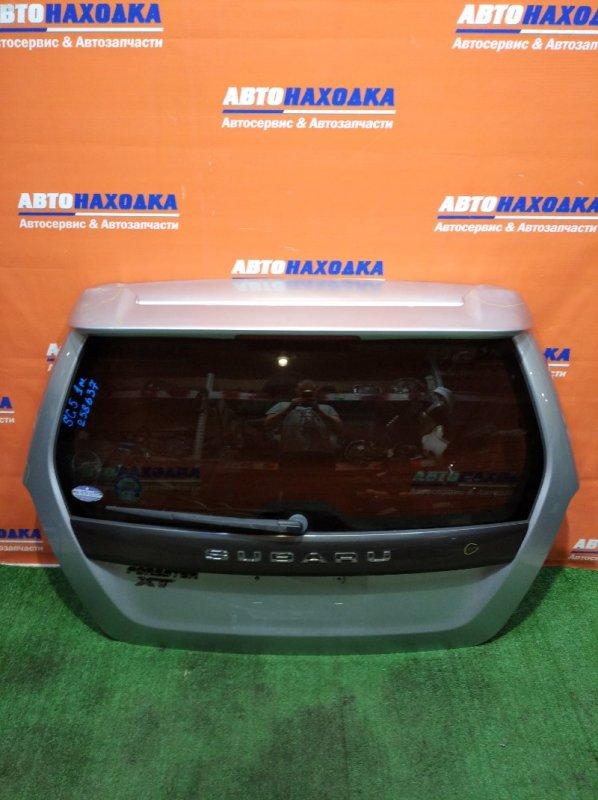 Дверь задняя Subaru Forester SG5 EJ20 2002 1мод под покраску/спойлер+метла+стекло тонир
