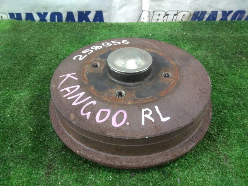 Ступица Renault Kangoo KC K4M 2003 задняя 8200741074 с барабаном