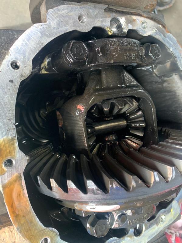 Редуктор Lincoln Navigator U228 LINCOLN INTECH 2003 передний передний 41/11