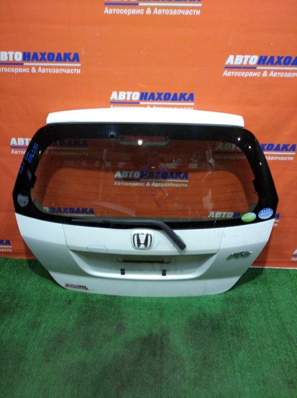 Дверь задняя Honda Fit GD1 L13A 2004 задняя 2мод небольшие повреждения ЛКП/метла+стекло