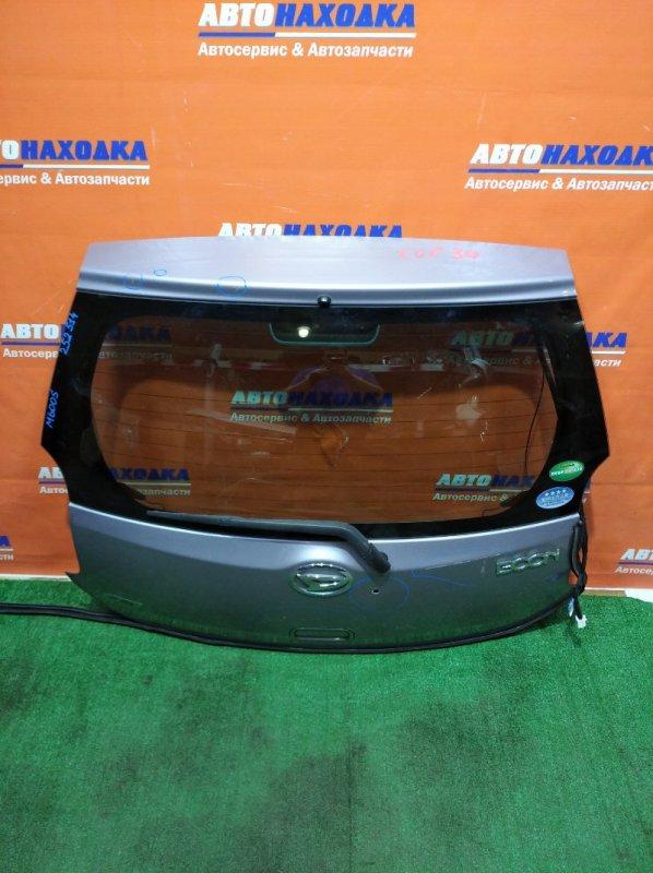 Дверь задняя Daihatsu Boon M600S 1KR-FE 2010 под покраску/потертости+есть отверстие возле