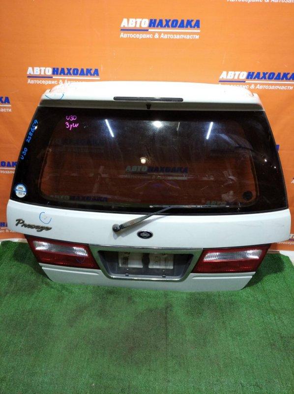 Дверь задняя Nissan Presage U30 KA24DE 1998 226-63479 1мод под покраску/спойлер+стекло